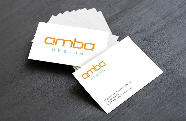 Amba Design: Logos